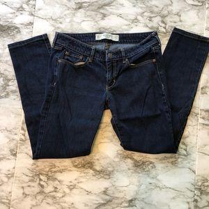 Abercrombie & Fitch - Dark Wash Skinny Jeans-27/31